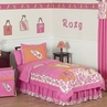 Tropical Hawaiian Kids Bedding - 3pc Girls Surf Full / Queen Set