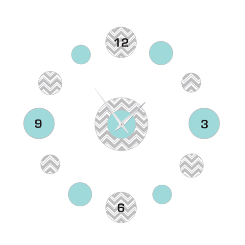 JoJo Designs Turquoise and Gray Zig Zag Kids and Baby DIY...