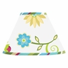 Turquoise and Lime Layla Lamp Shade by Sweet Jojo Designs