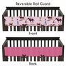 Western Cowgirl Baby Crib Long Rail Guard Cover by Sweet Jojo Designs