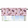 Western Horse Cowgirl Collection Window Valance by Sweet Jojo Designs