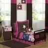 Western Horse Cowgirl Toddler Bedding - 5 pc Set