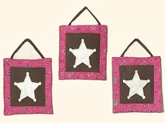 Western Horse Cowgirl Wall Hanging Accessories by Sweet Jojo Designs