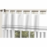White and Gray Hotel�Modern Window Valance by Sweet Jojo Designs