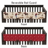 Wild West Cowboy Western Baby Crib Long Rail Guard Cover by Sweet Jojo Designs