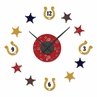 Wild West Cowboy Western DIY Clock and Decal Set