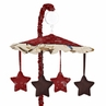 Wild West Cowboy Western Musical Baby Crib Mobile by Sweet Jojo Designs