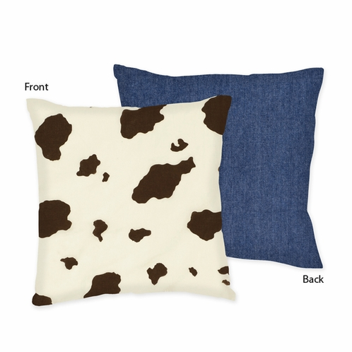Wild West Decorative Accent Throw Pillow by Sweet Jojo Designs - Click to enlarge