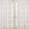 Window Treatment Panels for Grey, Coral and Mint Woodland Arrow by Sweet Jojo Designs - Set of 2
