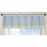Window Valance for Blue and Green Argyle Bedding Sets by Sweet Jojo Designs