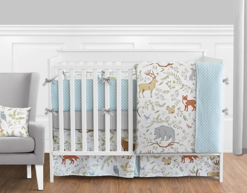 Sweet Jojo Designs Crib Bedding Woodland