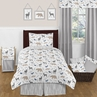 Woodland Animals 4pc Twin Boy Bedding Set by Sweet Jojo Designs
