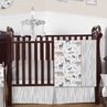 Woodland Animals Baby Bedding - 11pc Crib Set by Sweet Jojo Designs