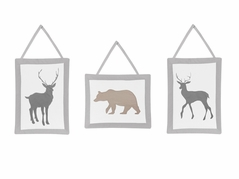 Woodland Animals Wall Hanging Accessories by Sweet Jojo Designs