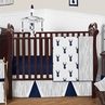 Woodland Deer Baby Bedding - 11pc Boys Crib Set by Sweet Jojo Designs