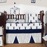 Woodland Deer Baby Bedding - 9pc Boys Crib Set by Sweet Jojo Designs