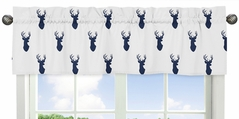 Woodland Deer Collection Window Valance by Sweet Jojo Designs