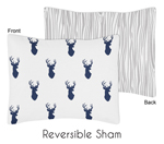 Woodland Deer Pillow Sham by Sweet Jojo Designs