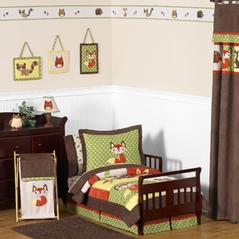 Woodland Forest Animals Toddler Bedding - 5pc Boy Bedding Set by Sweet Jojo Designs