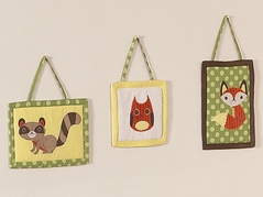 Woodland Forest Animals Wall Hanging Accessories by Sweet Jojo Designs