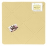Yellow Fabric Memory/Memo Photo Bulletin Board by Sweet Jojo Designs