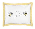 Honey Bee Pillow Sham by Sweet Jojo Designs