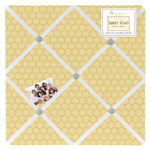 JoJo Designs Honey Bee Fabric Memory/Memo Photo Bulletin ...