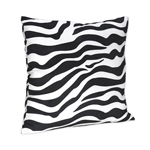 Zebra Print Decorative Accent Throw Pillow for Lime Zebra Bedding Set