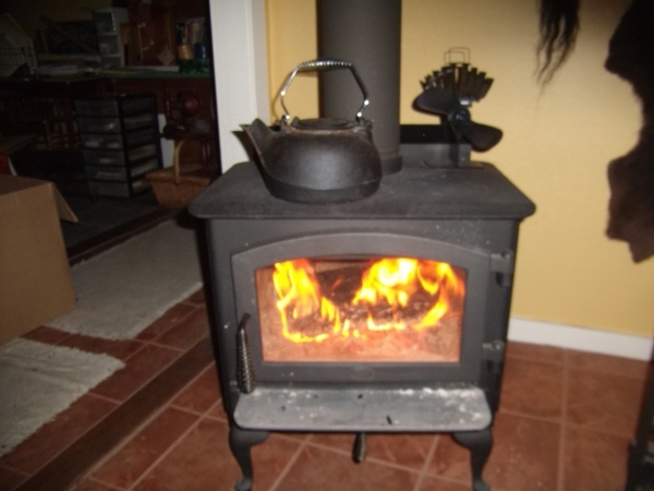 Caframo Ecofan Ultraair 810 Heat Powered Wood Stove Fan