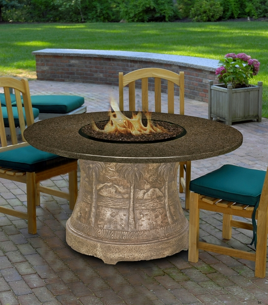 California Outdoor Concepts 7320 Palm Dining Height Fire Pit