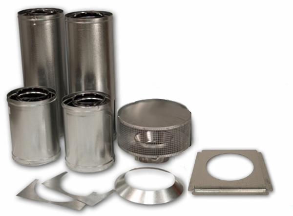 kit for ihp superior 8dm chimney pipe systems single story homes