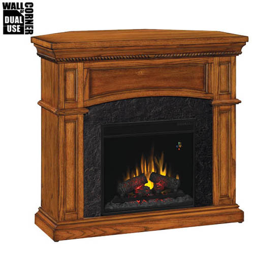 classic flame nantucket dual corner wall electric