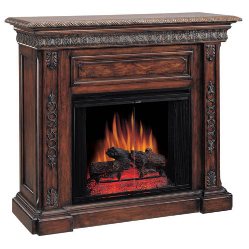 Cabinet Mantel: Electric Fireplace, Electric Fireplaces, Wall Mount