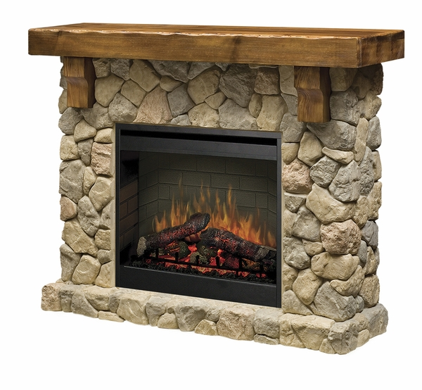 Dimplex SMP 904 ST Fieldstone Electric Fireplace and