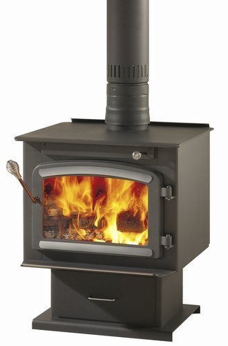 drolet myriad high-efficiency wood stove 2