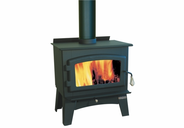 Drolet Eldorado Small Wood Stove With Blower Included