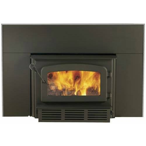 drolet escape 1400 wood burning fireplace insert w blower