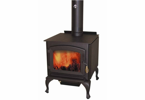 Drolet Legend Large Wood Stove With Blower Included DB03070