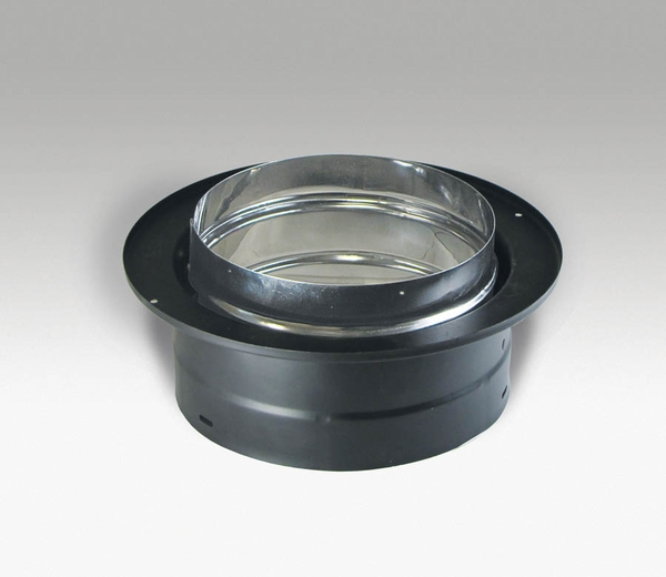 duravent dvl stovepipe chimney pipe adaptor with trim 6