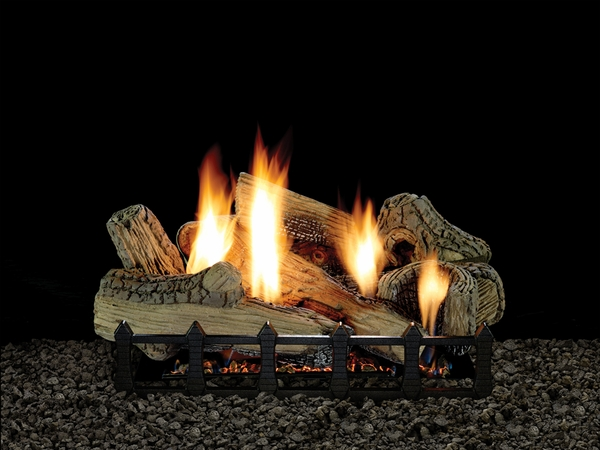 empire 30 canyon ceramic fiber ventless natural gas log