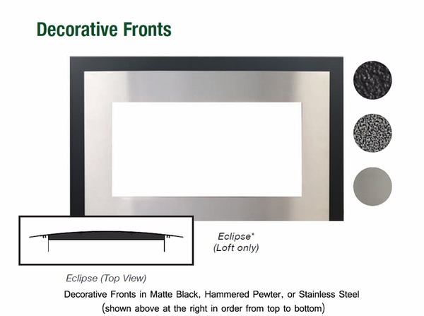Empire Medium Loft Direct Vent Gas Fireplace with Remote-Ready Millivolt  Controls - Medium Loft Direct Vent Gas Fireplace With Remote-Ready Millivolt