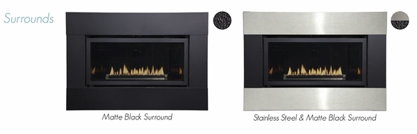 Empire Small Loft Direct Vent Gas Fireplace with Remote-Ready Millivolt  Controls - Small Loft Direct Vent Gas Fireplace With Remote-Ready Millivolt