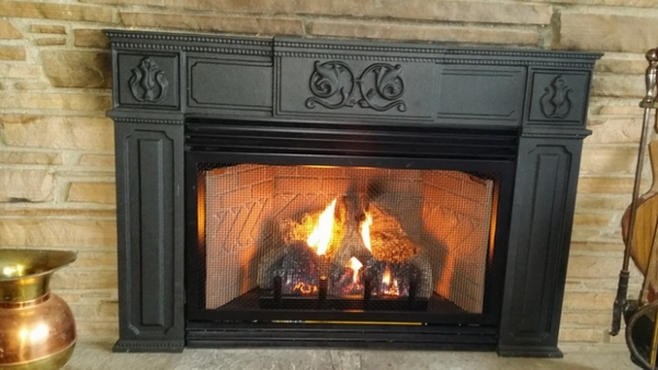 Empire Small Innsbrook Vent Free Gas Fireplace Insert With