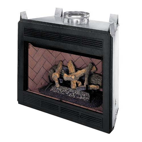 fmi mission 42 inch smooth b vent fireplace