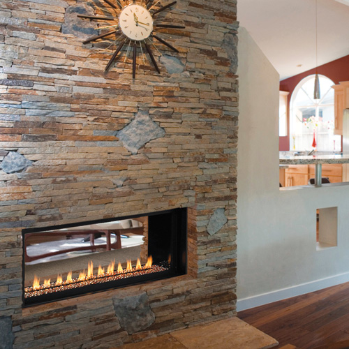 Fmi Paris Lights 43 Quot Linear Vent Free Fireplace Natural Gas