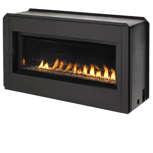 FMI Paris Lights 43 Linear Vent Free Fireplace Natural Gas
