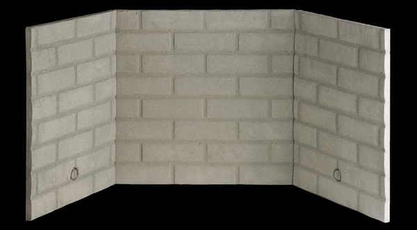 Superior Ihp Traditional Stacked Fiber Brick Liner Kit For