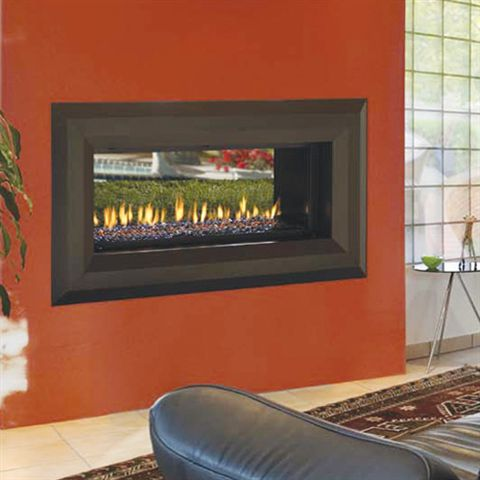 Enjoyable Propane Fireplace See Through Propane Fireplace Home Interior And Landscaping Ologienasavecom