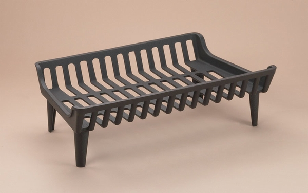 g800 series 24 in flat bottom cast iron fireplace grate