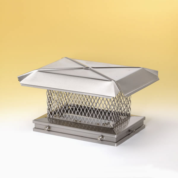 Gelco 10 In X 17 In Base California Mesh Stainless Steel